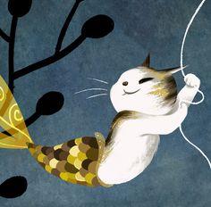 """kat-rampant: """" vivedessins: """" """"Catfish"""" """""""
