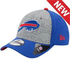 New Era  NFLDraft Reflective 39Thirty Buffalo Bills Hat 23a760dc6