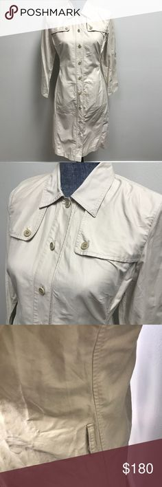 Weekend Max Mara Trench Style Dress Missing belt. Needs ironing.   Excellent used condition. Max Mara Dresses Mini