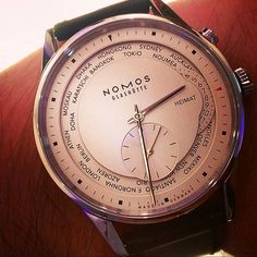 Nomos Glashütte Zürich Weltzeit @nomos_glashuette  #chronograph #audemarspiguet_fans #diamond #gold #sihh2016 #watch #audemars #ap #15407 #41mm #tourbillon #bezel #openworked #platinum #piguet #timepiece #wristporn #chrono #novelty #ap_gallery #perpetual #audemarspiguet #watchoftheday #15407st #royaloak #dailywatch #pinkgold #wristshot #2016 #offshore by jewewatch