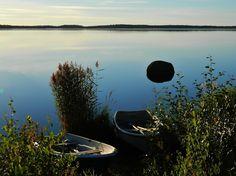 Seinäjoki, Kyrkösjärvi lake.
