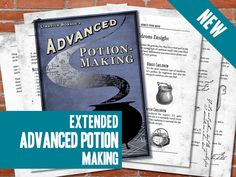 PRINTABLE Advanced Potion Making EXTENDED Edition  Harry