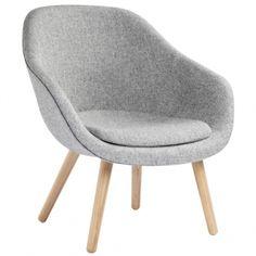 About a Lounge Chair nojatuoli istuintyynyllä, AAL82, matala