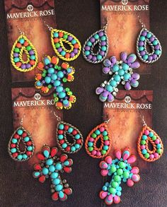 Great example of customizing your jewelry orders with Maverick Rose a Jewelry - www.maverickrose.com