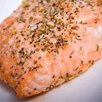 Poached Salmon (Pressure Cooker)