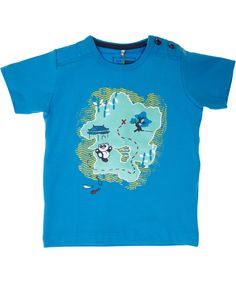 Name It lichtblauwe t-shirt in organische katoen. name-it.nl.emilea.be