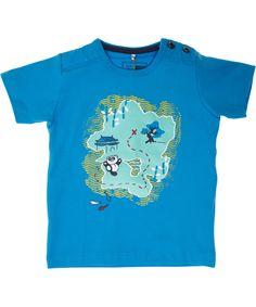 Name It blue organic baby t-shirt. name-it.en.emilea.be