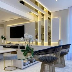 Best Modern House TV Unit Interior Design Tv Unit Interior Design, Interior Design Website, Interior S, Interior Design Living Room, Living Room Designs, Home Living Room, Living Room Decor, Wall Unit Designs, False Ceiling Design