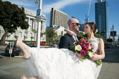 San Francisco City Hall wedding. Photography by Kept In Time Photography.