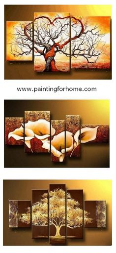 Tree of life painting, flower art painting, extra large wall art for bedroom and living room. Canvas art painting for sale. #painting #artwork #wallart #wallpainting #walldecor #abstractart #abstractpainting