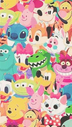 Images By 🤍 On W A L L | Disney Characters Wallpaper, Disney