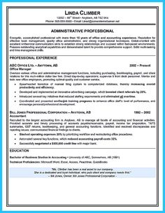 Executive Secretary Resume Resume Summary Administrative Assistant  Resume Info  Pinterest