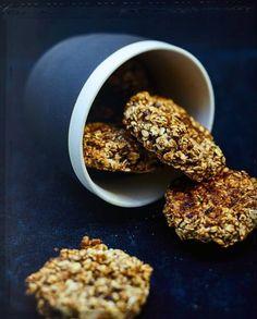 Cookies banane, flocons d'avoine et chocolat noir pour 6 personnes - Recettes Elle à Table
