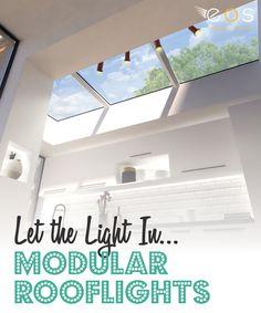 ECO Glazed Roof Windows - Contemporary Design and Energy Efficient