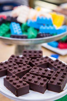 Chocolate Legos