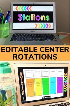 Editable Center Rotation Chart