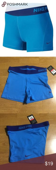 """Nike Pro Cool Compression MOBILITY AND SNUG-FITTING COMFORT The Nike Pro Women's 3"""" Training Shorts are designed with stretchy Dri-FIT fabric and an inseam panel for streamlined comfort and wide range of movement during workouts. Benefits Dri-FIT fabric helps keep you dry and comfortable. Stretch waist for support and a slimmer profile. Flat seams move smoothly against your skin Compression fit for a locked-in feel Product Details Fabric: Body: Dri-FIT 80% polyester/20% spandex. Price firm…"""