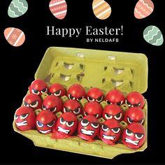 DIY Easter Eggs Anger // Inside Out