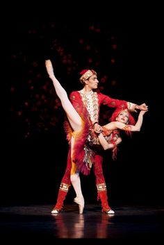 Valeri Hristov  as Ivan Tsarevich and Roberta Marquez in The Firebird © Johan Persson/ROH 2009 | by Royal Opera House Covent Garden