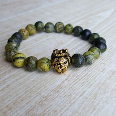 Made with ❤️ : Jasper Bead Bracelet Lion Beaded Bracelet Leo Metal Bracelet Unisex Lion Bracelet Men Stone Bracelet Jasper Lion Head Bracelet https://www.etsy.com/listing/544441301/jasper-bead-bracelet-lion-beaded?utm_campaign=crowdfire&utm_content=crowdfire&utm_medium=social&utm_source=pinterest