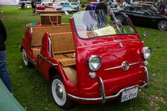 More Comic Relief  Starring: '59 Fiat 600 Multipla Jolly