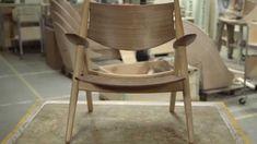 CH28 Lounge Chair by Hans J. Wegner