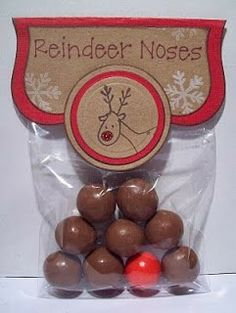 Ever Ready Reindeer Noses directions posted December 8. 2013