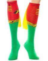 (1x1) Robin Cape Knee High Socks, One Size