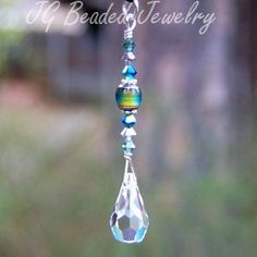 Mood Crystal Teardrop Decoration