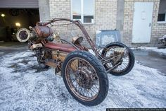 Steampunk Tendencies | Steampunk Trike by Igor Jarovenko  New Group : Come to share, promote your art, your event, meet new people, crafters, artists, performers... https://www.facebook.com/groups/steampunktendencies