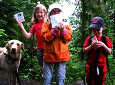 Kids Hiking, Letterboxing via Mommyhiker.com