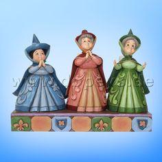 """Disney Traditions - Drei gute Feen, Flora, Fauna & Sonnenschein """"Royal Guests"""" 4059734"""