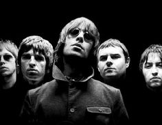 """Oasis is a British rock band that captures the disenfranchised, """"I don't give a f@' attitude in their lyrics and performance. I first heard them on a college radio station in Providence when I was 16 and had to go to an indie music store to buy my first Oasis album. When I met my husband, our first convo was about our shared love of Oasis. <3"""