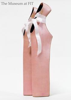 Noritaka Tatehana  Lady Pointe shoes (designed for Lady Gaga), 2012  The Museum at FIT  Photograph courtesy of  Noritaka Tatehana