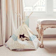 Votre chat mérite bien son propre petit lit douillet bien confortable ! Voici donc notre sélection d'idées qui risquent de vous inspirer...