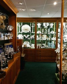 The London Silver Vaults in London, Greater London Kitchen Butlers Pantry, Butler Pantry, Greater London, Dish Sets, Antique Shops, Vaulting, Traditional Design, China Cabinet, Four Square