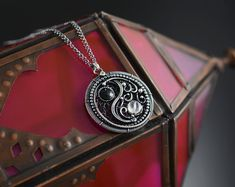 Handmade and fine gemstone jewelry by JoannaWatraczJewelry on Etsy Gemstone Jewelry, Unique Jewelry, Handmade Items, Handmade Gifts, Semi Precious Gemstones, Perfume, Sterling Silver, Accessories, Etsy