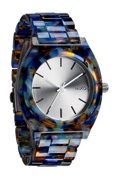 Nixon+'The+Time+Teller+Watercolor'+Watch+available+at+#Nordstrom