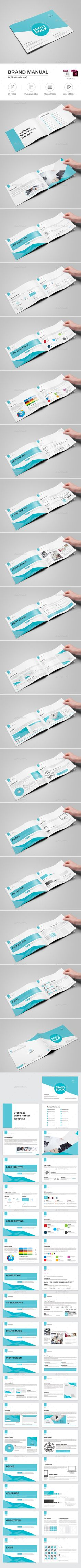 51 best Brand Style Guide Template & Design images on Pinterest in ...