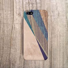 STYLISH iPhone 4 Case, Autumn Trend iPhone 5 Case, Mens Christmas Gift, Brown iPhone Case Geometric Case, Designer iPhone Case Wood Print