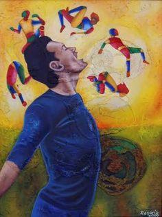 Explosicón Rosario Román Pintura Acrílico sobre tela 80 x 60 cms. 2010. $ 13, 000.00 M.N.  Vida a través del arte Exposición Colectiva Multidisciplinaria Proyecto Nómada de Galería Arte en Línea En  el Centro Cultural San Ángel Del 5 al 31 de Mayo de 2016   #arte #art #pintura #painting #escultura #sculpture #acuarela #watercolor#arteobjeto #objectart #grafica #graphic #dibujo #drawing #artemexico#mexicanart #artelatinoamericano #latinameeicanart #color #vida #life#vidaatravesdelarte
