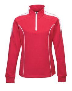 Women's Mesh Textured 1/4 #Zipper #Pullover (100% #Polyester) Tri mountain 603