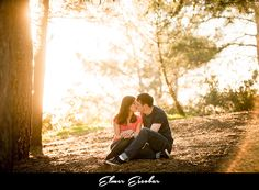 Griffith Observatory Engagement Session | Chiara and Dallen