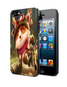 Teemo League Of Legends Samsung Galaxy S3 S4 S5 Note 3 , iPhone 4 5 5c 6 Plus , iPod 4 5 case