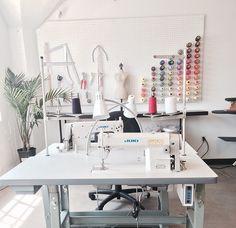 50 Most Popular Craft Room Sewing Decor Ideas - Nähen Ideen