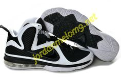 New Nike Lebron 9 Shoes For Sale Black White 469764 060 Mens f9d181e1a