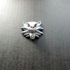 Witcher Game Medallion Wolf Head wolf pendant от ViaLatteaArt