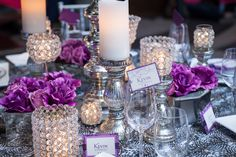 Purple is a magical color when it comes to weddings. From lavender to auburn, the color is romantic and royal.  | PWG Nashville Wedding Shows | Nashville Photography Group | #NASHPWGSHOW #NashvilleWeddings #WeddingFlowers