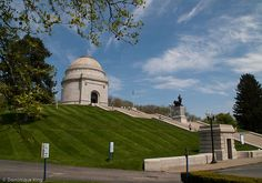McKinley Presidential Memorial in Canton, Ohio.