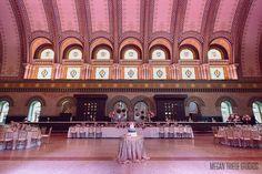 Megan Thiele Photography . St. Louis Union Station Wedding, Grand Hall Wedding at St. Louis Union Station Hotel, Historic Wedding Venues St. Louis, Unique Wedding Venue St. Louis,